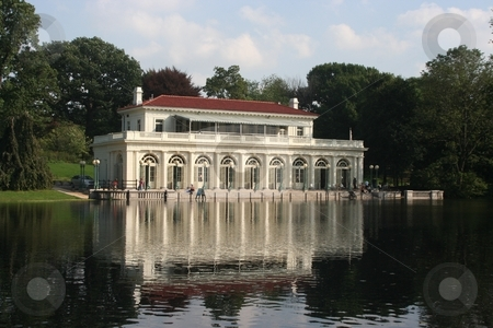 Prospect Park Boat House stock photo, The Boat house located in Prospect Park by Ryan Bouie