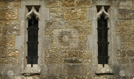 Church Windows stock photo, Church Windows Fore Ireland by Will Burwell
