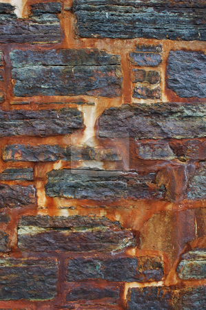 Rust wall stock photo, Old wall cover in rust by Will Burwell