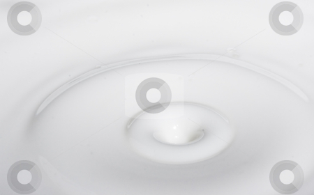Drop milk stock photo, A drop splash of withe liquid or milk by Ivan Montero