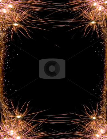 Celebration firework frame stock photo, Image of an explosion of a firework during a celebration by Ivan Montero