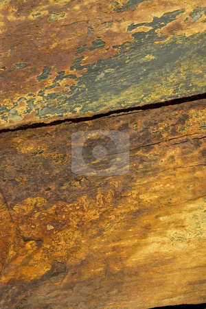 Weathered Slate stock photo, Close up of weathered Welsh slate taken on a cliff face in Pembroke by Chris Pole