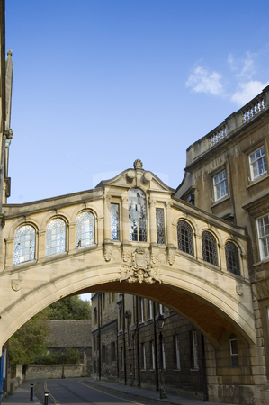 Oxford (England) stock photo, An old footbridge in Oxford, England by Lee Torrens
