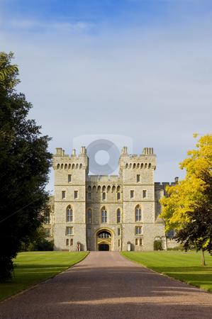 Windsor Castle stock photo, Windsor Castle's entrance (England) by Lee Torrens