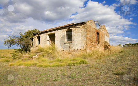 Left in Ruin stock photo, A ruin amidst teh vineyard of the Barossa Valley in South Australia by Mike Dawson