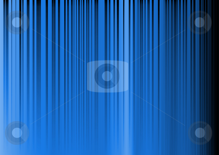 Rainbow stripe shadow stock photo, Cobalt blue abstract background with vertcal stripes of gradient by Michael Travers