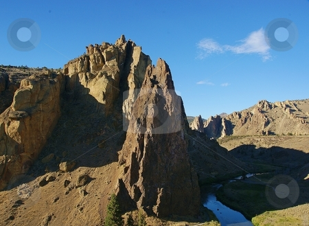 Smith Rock State Park stock photo,  by Harold Johnson
