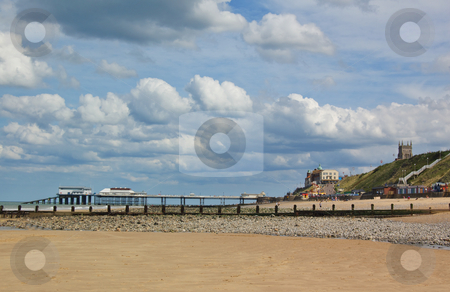 English Seaside Town stock photo,  by Mark Smith