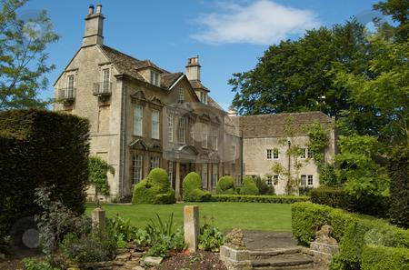 Manor House Garden stock photo,  by Mark Smith