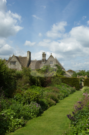 English Country Garden stock photo,  by Mark Smith