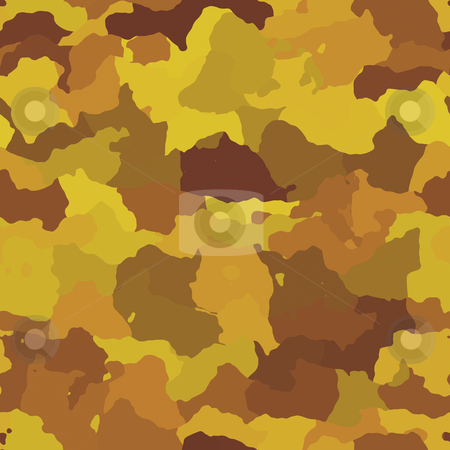 Camouflage pattern stock photo, Camouflage pattern autumn desert colors design graphic wallpaper texture by Kheng Guan Toh