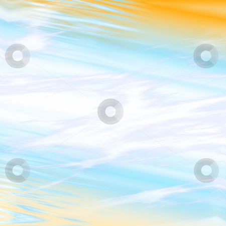 Energy beam stock photo, Pulsating energy beam ray abstract design illustration by Kheng Guan Toh