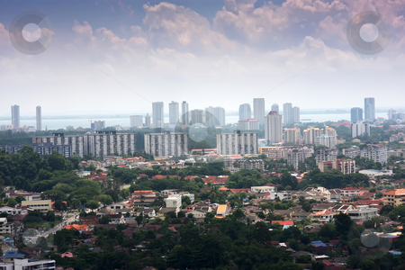 Penang, Malaysia stock photo, Panoramic view of the Malaysian city of Penang by Kheng Guan Toh