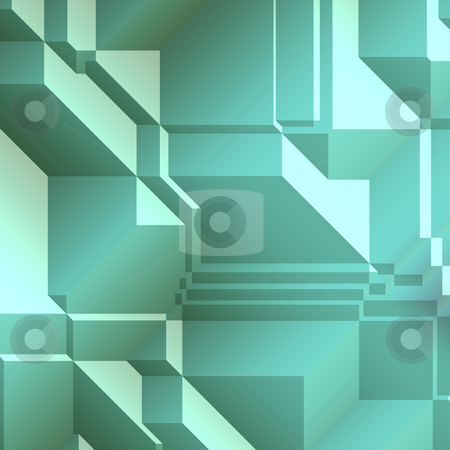 Angular geometric abstract stock photo, Smooth angular geometric abstract graphic design background by Kheng Guan Toh