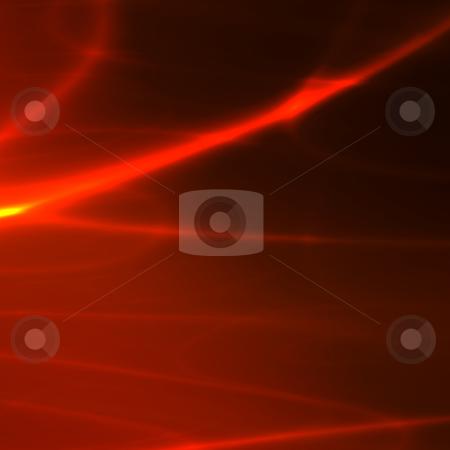 Streaks of light stock photo, Abstract wallpaper illustration of glowing wavy streaks of light by Kheng Guan Toh