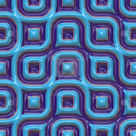 Colorful ceramic patterns stock photo, Colorful abstract patterns glossy ceramic plastic surface look by Kheng Guan Toh