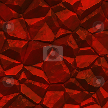 Faceted ore deposits stock photo, Crystalline mineral and metal shiny faceted ore deposits by Kheng Guan Toh
