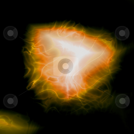 Energy aura abstract stock photo, Energy aura glow abstract graphic design illustration by Kheng Guan Toh