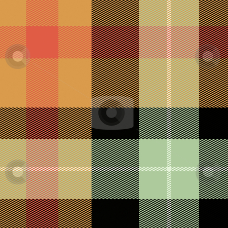 Scottish tartan plaid stock photo, Tartan Scottish plaid material pattern texture design by Kheng Guan Toh