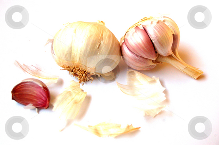 Garlic stock photo, The healthy garlic is part of many dishes by Lars Kastilan