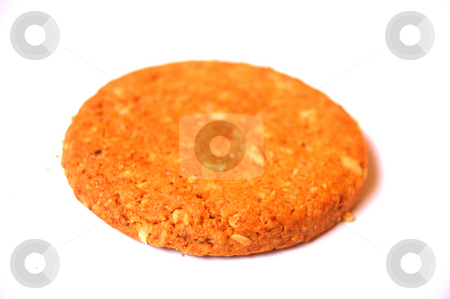 Cookie stock photo, A cookie by Lars Kastilan