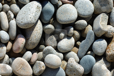 Rocks stock photo, Beach Rocks by Will Burwell