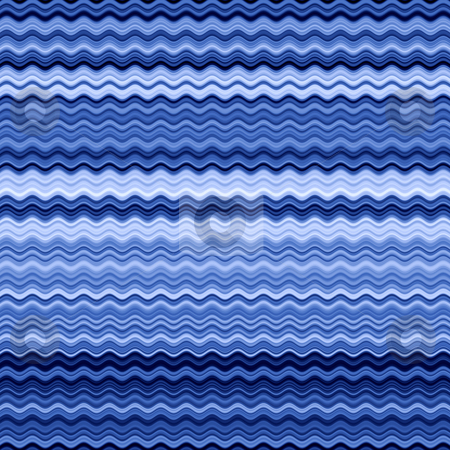 Blue wavy lines abstract pattern background. stock photo, Blue wavy lines abstract pattern background. by Stephen Rees