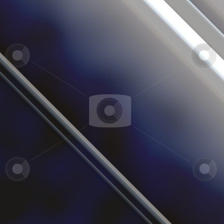 Metallic geometry stock photo, Abstract background design with smooth metallic  angular geometric shapes by Kheng Guan Toh