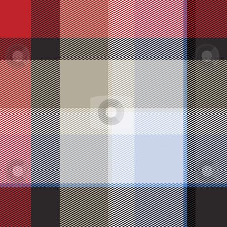 Tartan plaid stock photo, Tartan Scottish plaid material pattern texture design by Kheng Guan Toh