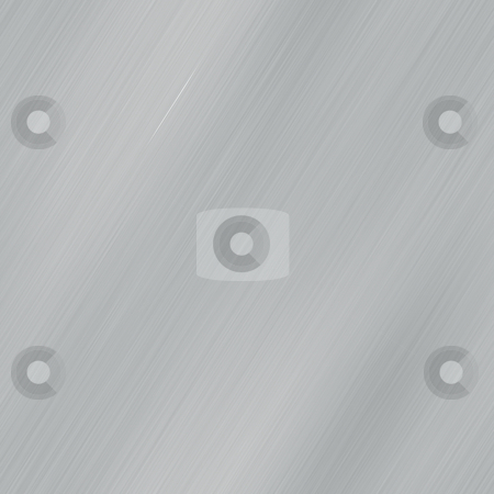 Brushed metal stock photo, Brushed metal surface texture seamless background illustration by Kheng Guan Toh