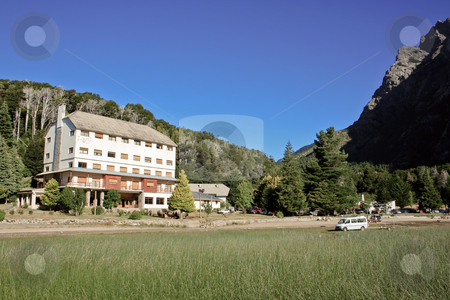 Hotel in the mountains stock photo, A plce to relax in the middle of nowhere by Rafael Franceschini