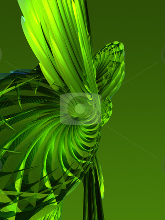 Abstract Green Background stock photo, An abstract green background image. by Gregory Dunn