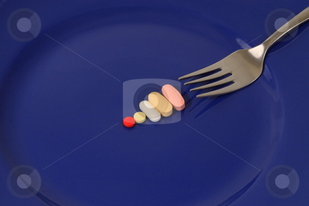 Health stock photo, Drugs and vitamins that help our bodies stay healthy by Jack Schiffer