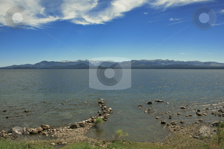 Lake view in Argentina stock photo, Travelling along the lake in the Patagonia by Rafael Franceschini