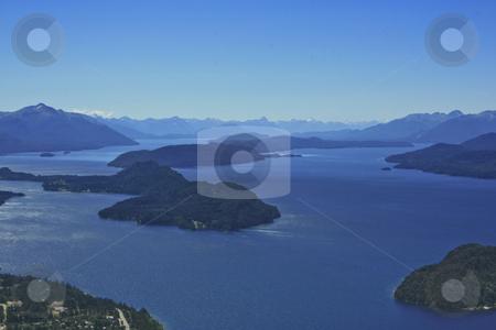 Lake Nahuel Huapi in Bariloche stock photo, Lake Nahuel Huapi in Bariloche by Rafael Franceschini