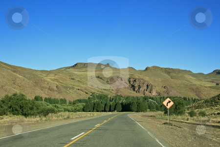 On the road stock photo, Driving on the road lonely by Rafael Franceschini