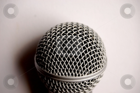 Microphone stock photo, A mic by Lars Kastilan