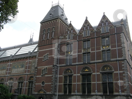 Rijksmuseum in Amsterdam, Netherlands stock photo,  by Ritu Jethani
