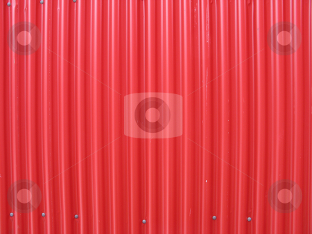 Red metal texture stock photo,  by Mbudley Mbudley