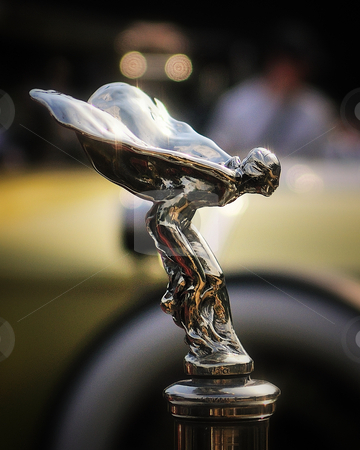 Flying lady stock photo, Rolls royce flying lady by Tim Doubrava