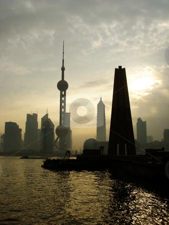 Shanghai the bund stock photo,  by Derek Tan