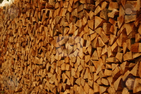 Giant wood pile stock photo, A pile of wood by Jeff Crowe