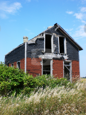 Abandoned house stock photo,  by J.G. Byers