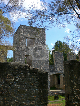 Mill ruins stock photo,  by J.G. Byers