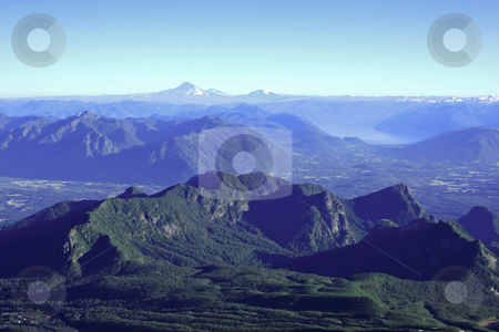 Mountain summit view stock photo, Climbing up the Villarrica volcano in south Chile by Rafael Franceschini