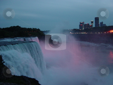 Niagara Falls - border of USA  stock photo,  by Ritu Jethani