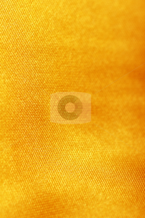 Orange gold silk stock photo, Orange gold silk material by Mark Yuill