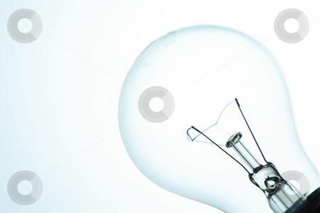 White light bulb stock photo, White light bulb by Mark Yuill
