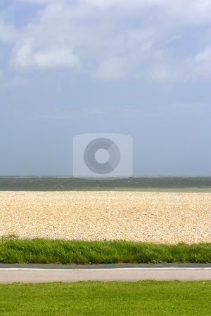 British beach stock photo, british seaside by Mark Yuill