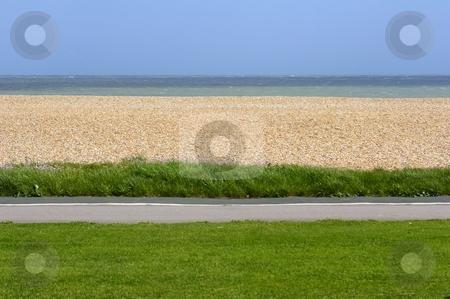 British beach stock photo, British seaside by Mark Yuill